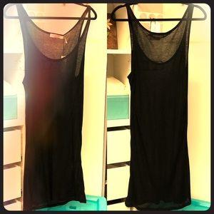 NWT Isabel Marant Etoile Tencel Black Slip Dress L
